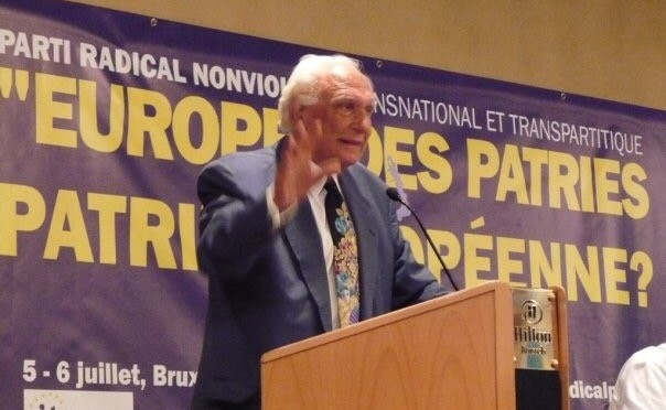 La Patria Europea o l'Europa delle Patrie? Intervista a Marco Pannella a Brussel