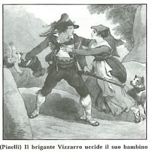 il brigante Vizzarro uccide il suo bambino