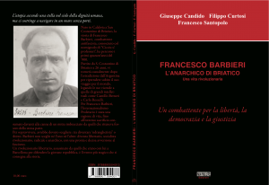 Francesco Barbieri, l'anarchico di Briatico