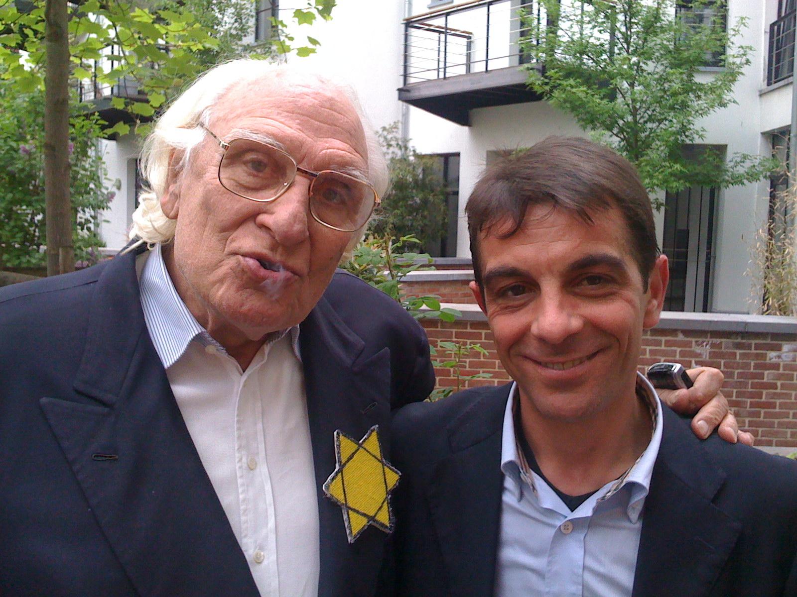 Giuseppe Candido con l'On.le Marco Pannella
