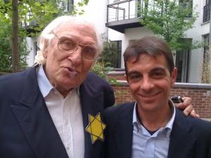 Marco Pannella e Giuseppe Candido