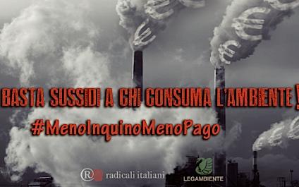 #MenoInquinoMenoPago