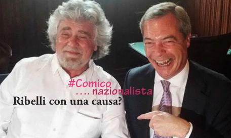 Beppe Grillo, l'inaccettabile alleanza con Nigel Farage e l'Italia della tortura