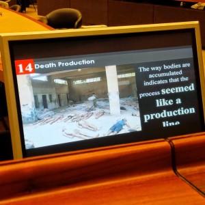 Immagini relative all'uso di armi chimiche in Siria. Foto: Marco Perduca