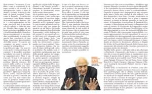 Prosecuzione lettera (sx) earticolo (dx) pubblicati sulle Cronache del Garantista del 5 dicembre 2014