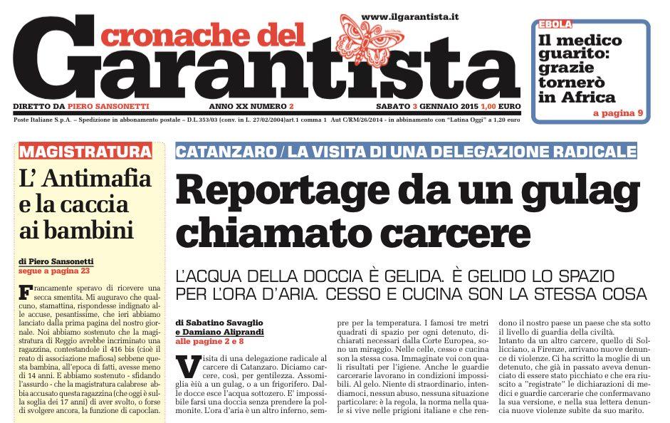 @Radicali in #Satyagraha: resoconto della visita di Capodanno al #carcere di Catanzaro