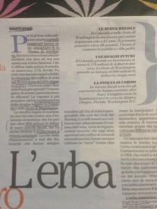 L'articolo di Saviano pubblicato su R2 di Repubblica giovedì' 12 gennaio