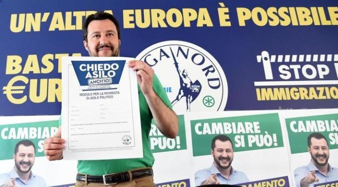 #Salvini, il #giornalismo (S)fascista e i #Rom