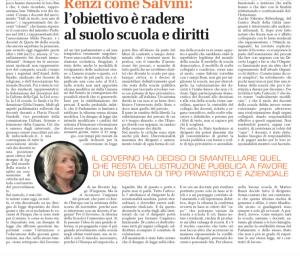 Articolo di Giuseppe Candido, pubblicato su Cronache del Garantista domenica 12 aprile 2015