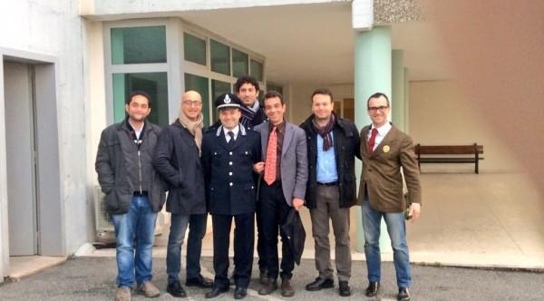 Reggio Calabria 27/12/2015 - Delegazione del Partito Radicale in visita al carcere di Arghillà (RC)
