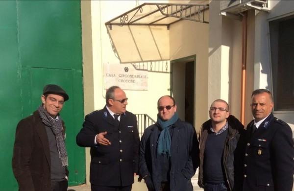 Delegazione Partito Radicale in visita al carcere di Crotone