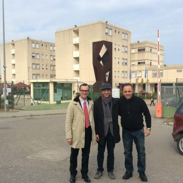 Delegazione PartitoRadicale visita Cr Rossano C.