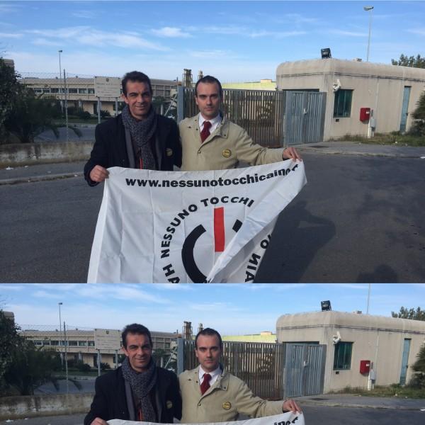 Delegazione PartitoRadicale visita cc Vibo Valantia (VV)