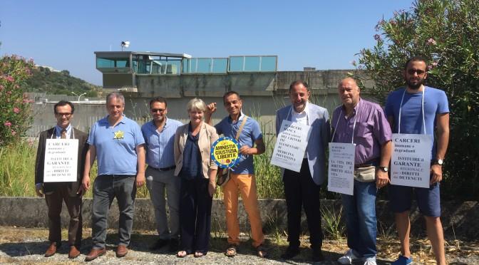 @RitaBernardini visita le #carceri di Catanzaro, Vibo Valentia e Palmi. Il report