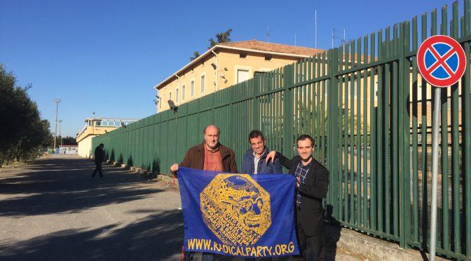 Visita dei militanti del @RadicalParty al carcere di Vibo Valentia. Il Rapporto
