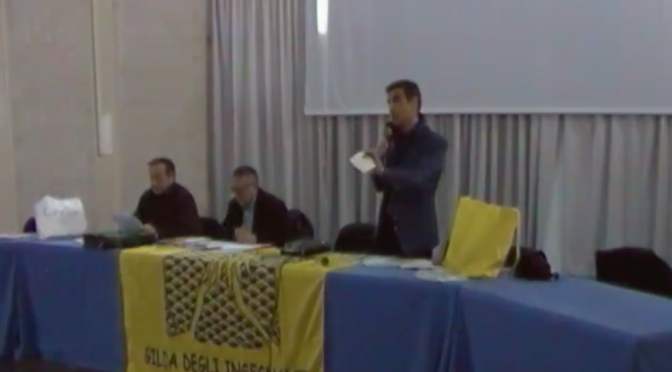 Assemblea della @GildaInsegnanti all'I.I.S. Pertini di Crotone