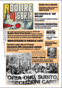 Abolire la miseria della Calabria