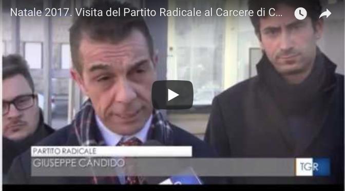 Natale 2017, visita delegazione Partito Radicale al Carcere di Catanzaro