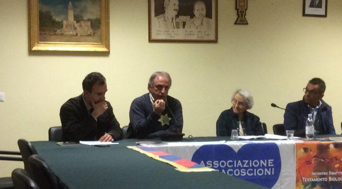 Mina Welby a Sant'Onofrio per presentare il suo libro e discutere di fine vita e testamento biologico