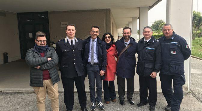 Pasqua 2019. delegazione partito radicale NTT in visita al carcere di vibo